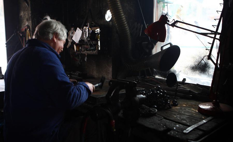 Laboratori artigianali per la lavorazione del ferro